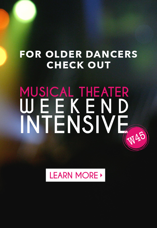 Musical Theater Weekend Intensive W45