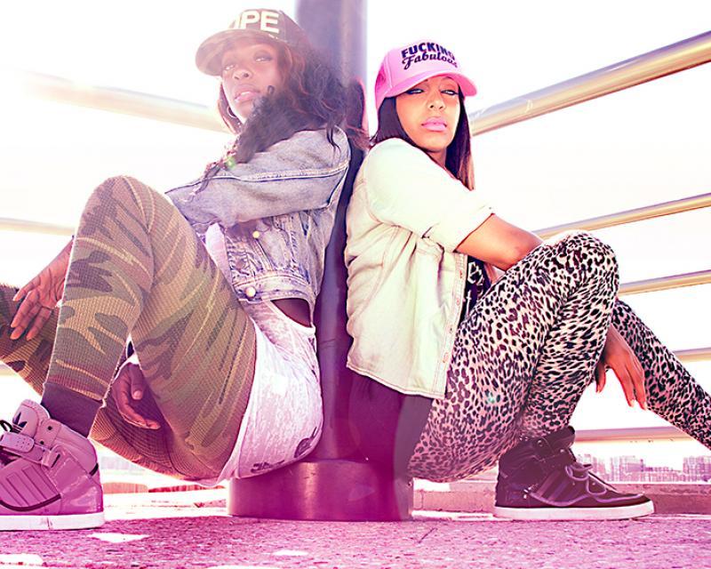 Tavia and Tamara