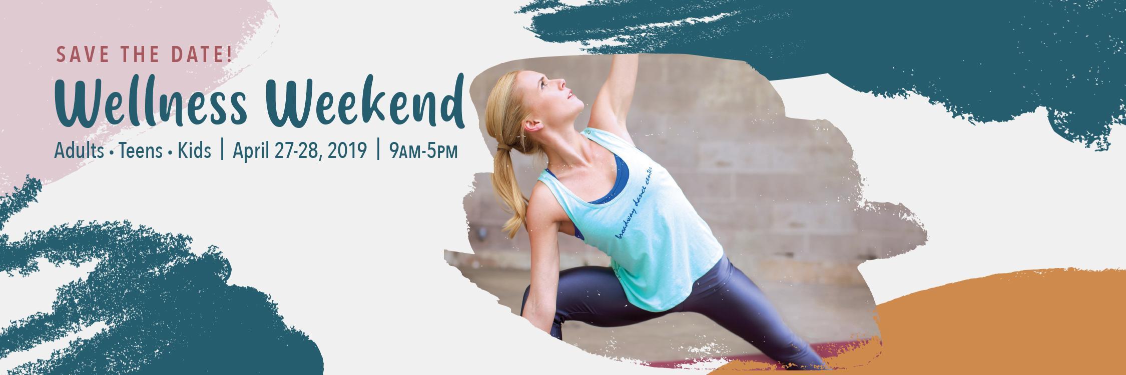 wellness weekend slider